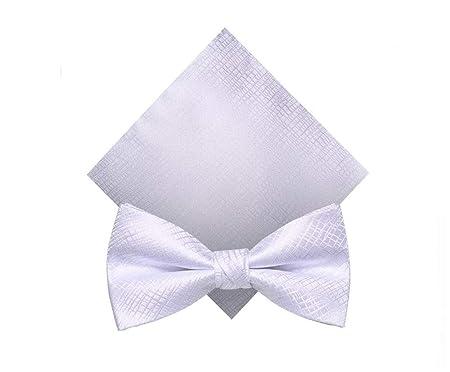 HongTeng Corbata de moño Poliéster Fibra de poliéster para Hombres ...