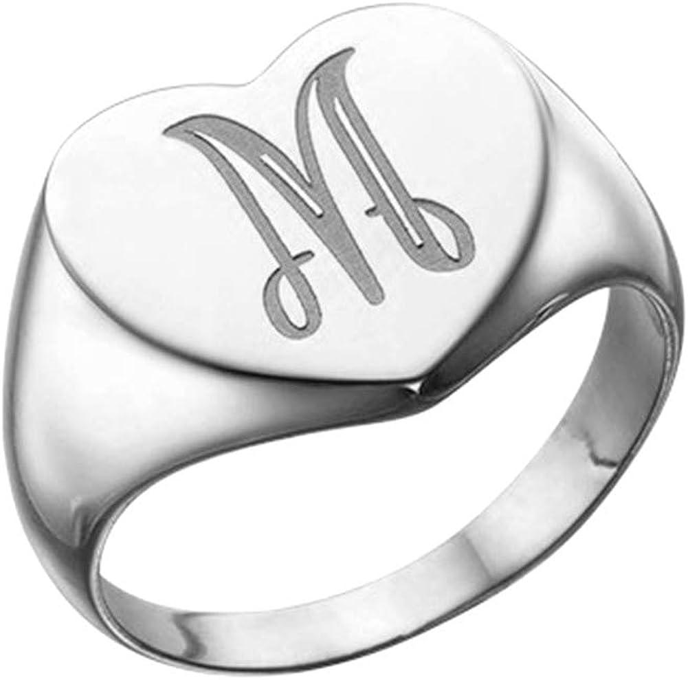 Signet ring Statement ring Silver stamp ring Women jewelry Women jewelry Silver jewelry Handmade jewelry Stamped ring Silver ring
