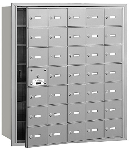 Access Horizontal Mailboxes - 1