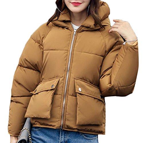 Cappuccio Breve Tuta 6 Cappotti Con Donne Inverno Ispessiscono Delle Giù Generici Sportiva Giacche Cotone IOqwPg0g