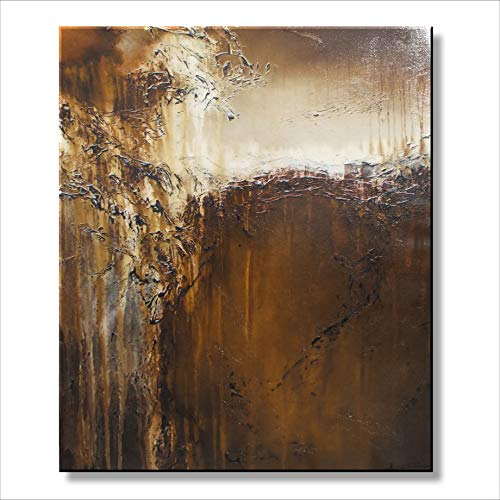 Eloise World Studio - Abstract Canvas Painting Limited Edition Giclee Textured Wall Art Framed 36in. x 30in. x 1.5in. Oil Painting