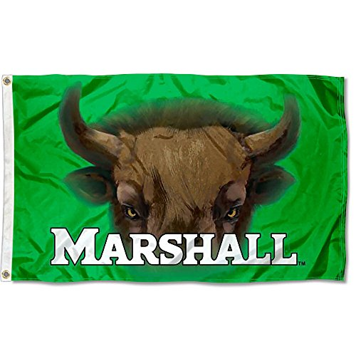 Marshall Thundering Herd Herd Eyes College Flag