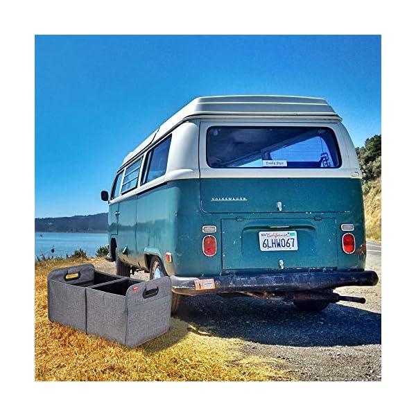 51SdU4lGtFL achilles Auto Faltbox, Kofferraumtasche faltbar, Einkaufstasche, Kofferraum-Organizer, Autotasche, Falt-Korb, Falttasche…