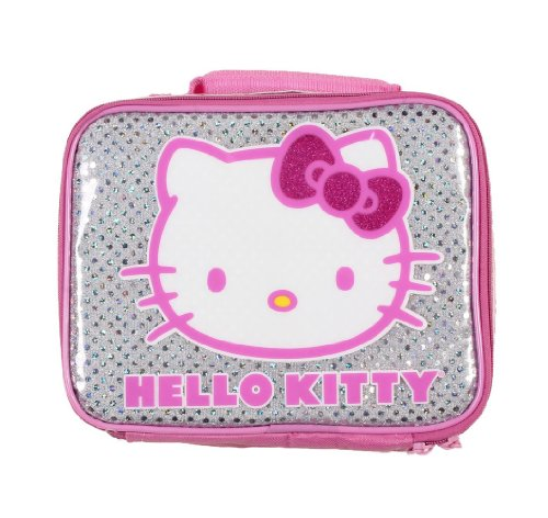 Hello Kitty Pink Glitter Bow Lunch - Kitty Bow Pink With Hello
