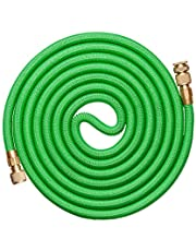Jardineer Expandable Garden Hose 50 ft,Lightweight Flexible Water Hose with 3/4 Brass Fitting,Outside Durable Gardening Hose Kink Free(Storage)