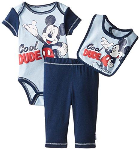 Disney Mickey Mouse Three Piece Bodysuit
