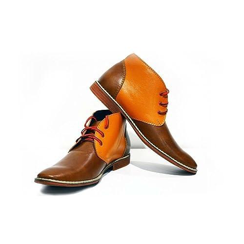 Amazon.com | PeppeShoes Modello Moderno - Handmade Italian ...