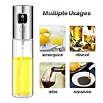 Olive Oil Sprayer for Cooking, Oil Spray Bottle Oil Dispenser Vinegar Bottle with 2 Bonus BBQ Oil Brushes for Kitchen Baking, Salad, Roasting, Frying and Barbecue Grills by MAYBEST 13