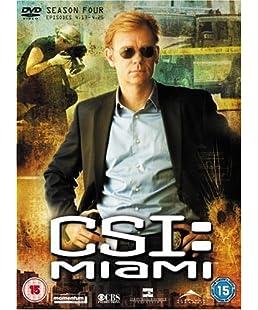 CSI: Crime Scene Investigation - Miami - Season 4.2 [Import anglais]