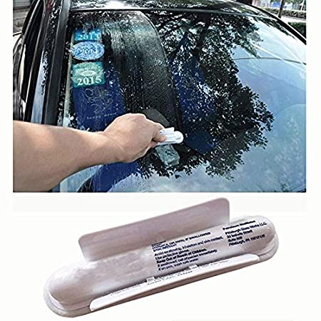 OurLeeme Aquapel coche repelente agua parabrisas parabrisas de vidrio repelente repelente lluvia parabrisas vidrio tratamiento lluvia parabrisas (1 PCS): ...