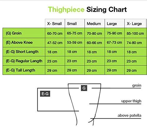 FarrowWrap Classic Thighpiece, Tan with soft AG Liner, BSN Jobst FarrowMed (Regular-L)