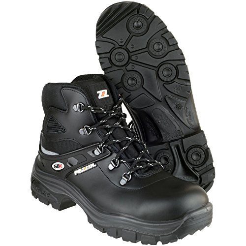 Leather Mens Work Safety Samurai Black Pezzol S3 Boot Black gfxq4OOwE