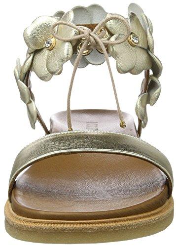Inuovo 7152, Sandalias Mujer Dorado (Gold)