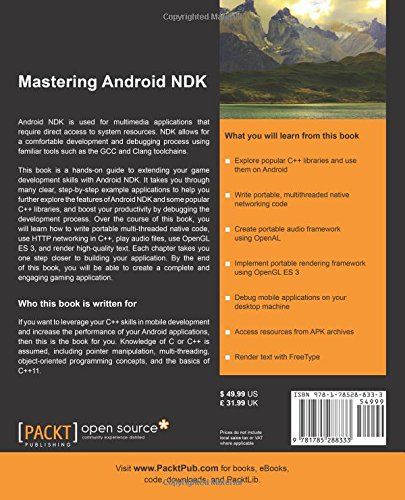 Amazon com: Mastering Android NDK (9781785288333): Sergey