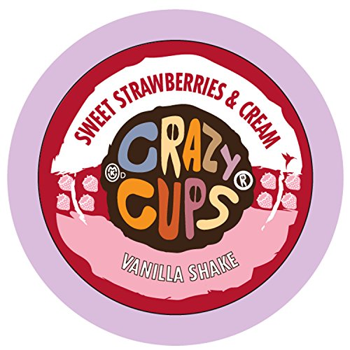 Crazy Cups Caffeinated Vanilla Strawberries