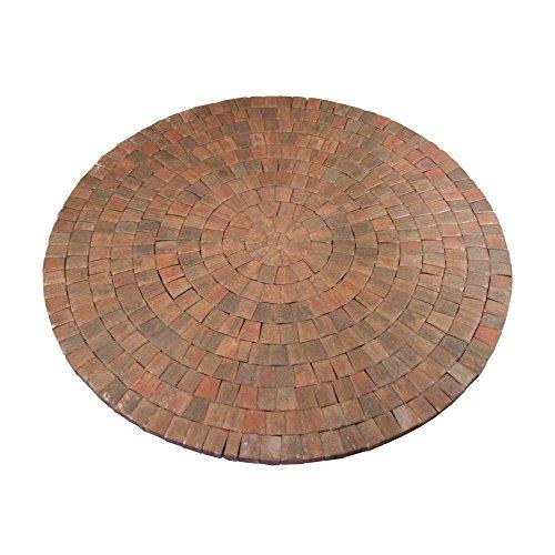 Anchor 9 ft. x 9 in. Autumn Blend Dutch Cobble Concrete Paver Circle Kit