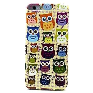 6 Plus Case,iphone 6 Plus Cases,iphone Cases 6 Plus,iphone 6 Plus Case,case for Iphone 6 Plus,iphone 6 Plus Phone Case,iphone 6 Plus 5.5 Case,iphone 6 Plus 5.5 Inch Case,iphone 6 Plus Cases for Girls,beautiful Pattern Clear TPU Silicone Gel Back Design Iphone 6 Plus Cover Skin Soft Case for Iphone 6 Plus 5.5 Inch (Owls)