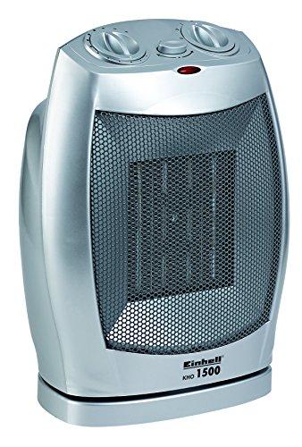 Einhell Heizlüfter KHO 1500 (1500 Watt, zuschaltbare Drehfunktion, 2 Heizstufen, Ventilatorbetrieb, PTC-Heizelement)