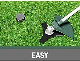 Bosch AFS 23-37 - Desbrozadora (cuchilla de 3 hojas, bobina para hilos de corte, 3 hilos de corte, empuñadura adicional, caperuza en caja de cartón, potencia de 1000 W): Amazon.es: Bricolaje y herramientas
