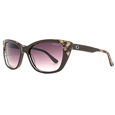 48f sol Lucmarrone Scuro Guess 55 Grad Gafas Adults Unisex 'Gu7511 de marrón Sp5pwY