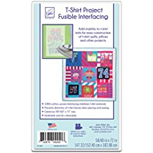 June Tailor T-Shirt Project Fusible Interfacing, 60 by 72-Inch, White