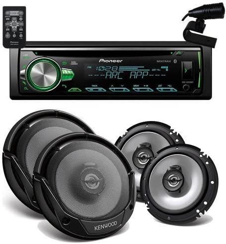 Pioneer DEH-S5000BT Bluetooh 2 Pair of KFC-1665S 6 1 2 2 way speaker