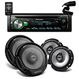 Pioneer DEH-S5000BT Bluetooh + 2) Pair of KFC-1665S 6 1/2'' 2 way speaker