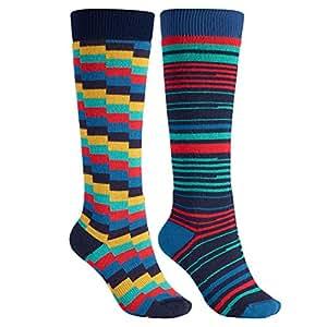 Burton Weekender Two Pack Sock Women's Scout M\L