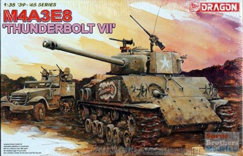 Dragon Models 6183 1/35 M4A3E8 Thunderbolt VII Tank