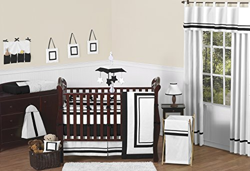 Sweet Jojo Designs White and Black Hotel Fabric Memory/Memo Photo Bulletin Board by Sweet Jojo Designs (Image #2)