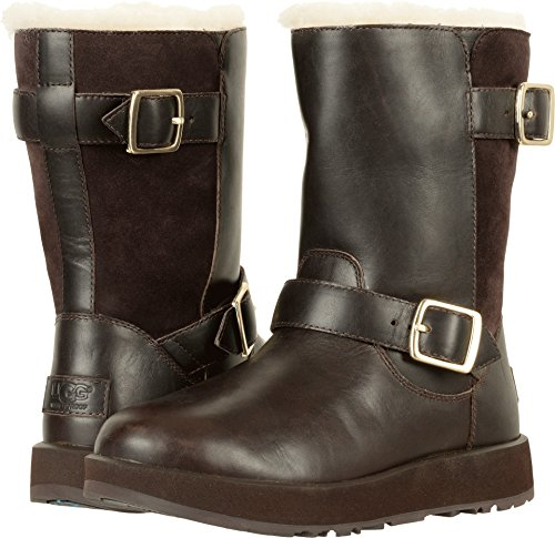 UGG Women's Breida Waterproof Snow Boot, Chestnut, 8.5 M US