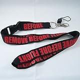 remove before flight lanyard - Rotary13B1 Remove Before Flight - Lanyard - Black/Red