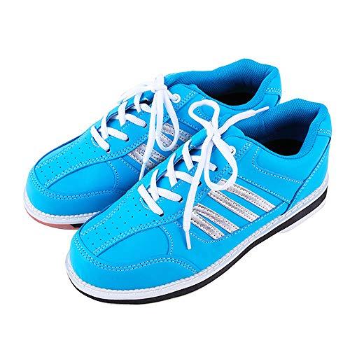 FJJLOVE Schüsseln Schuhe, beiläufige Breathable Walking Schuh Non-Slip Leichte Bowling Trainer Lauf Ng Gymnastik-Sport-Turnschuhe für Männer,42