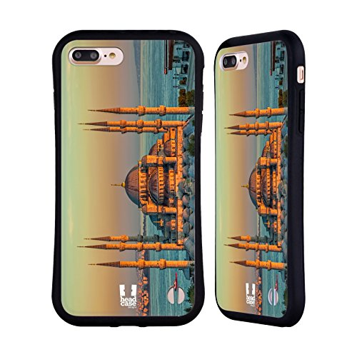 Sultan Mosque Ahmed (Head Case Designs Sultan Ahmed Mosque Best of Istanbul Hybrid Case for iPhone 7 Plus/iPhone 8 Plus)