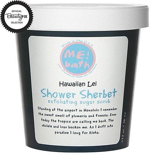 Me! Bath Hawaiian Lei Shower Sherbet, 16 oz.
