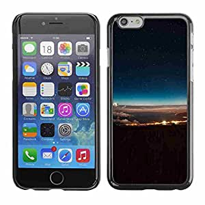 """Shell-Star ( Space And Clouds ) Fundas Cover Cubre Hard Case Cover para 5.5"""" iPhone 6 Plus"""