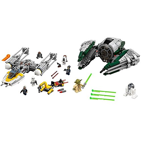 Lego Star Wars Y Wing Starfighter 75172 Star Wars Toy With Lego Star Wars Yodas Jedi Starfighter 75168 Star Wars Toy Bundle