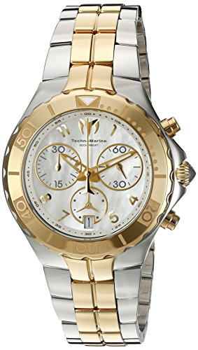 Technomarine Women's 'Sea Pearl' Quartz Stainless Steel Casual Watch (Model: TM-715001)