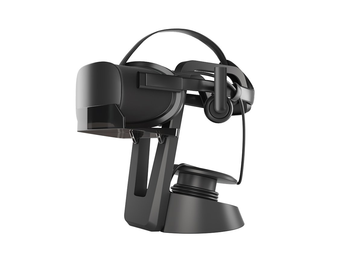 Skywin VR Stand - Headset Display Stand and Cable Organizer for all VR Glasses - HTC Vive, Playstation VR, and Oculus Rift by Skywin (Image #2)