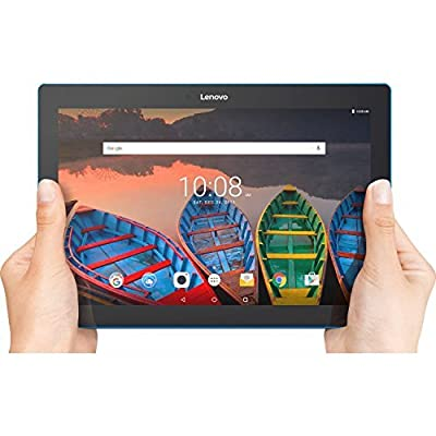 "Lenovo Tab 10 Tablet, 10.1"" HD Touchscreen, Qualcomm Quad-core Processor 1.30GHz, 1GB Memory, 16GB Storage, Wifi, Bluetooth, Webcam, Up to 10 hours battery life, Android 6.0 OS"