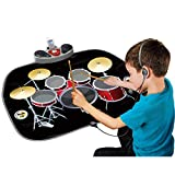 QXMEI Dance Blanket Children's Dance Blanket Shelf Drum Toy Multi-Purpose Intelligence Development Music Jazz Drum Toy Product Size: 30.7inchs 23.6inchs