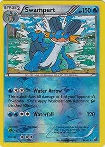 35//168 Pokemon: Swampert Reverse Holo Celestial Storm Rare