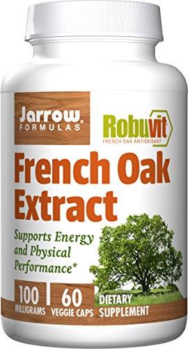 Jarrow Formulas Jarrow Formulas Robuvit, French Oak Extract, Veggie Caps, 100 mg, 60 Count