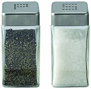 Cuisinox Salt and Pepper Shaker Set Stainless Steel New
