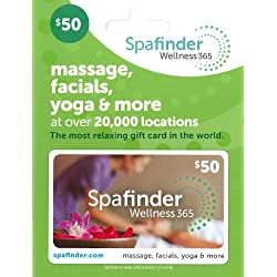 Spafinder Wellness 365 Gift Card $50