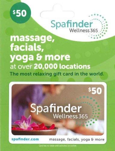 Spafinder Wellness 365 Gift Card  50