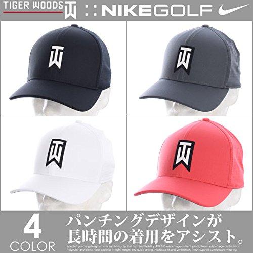 Nike TW AeroBill Classic 99 Performance Golf Cap 2018 Black/Anthracite/White Large/X-Large