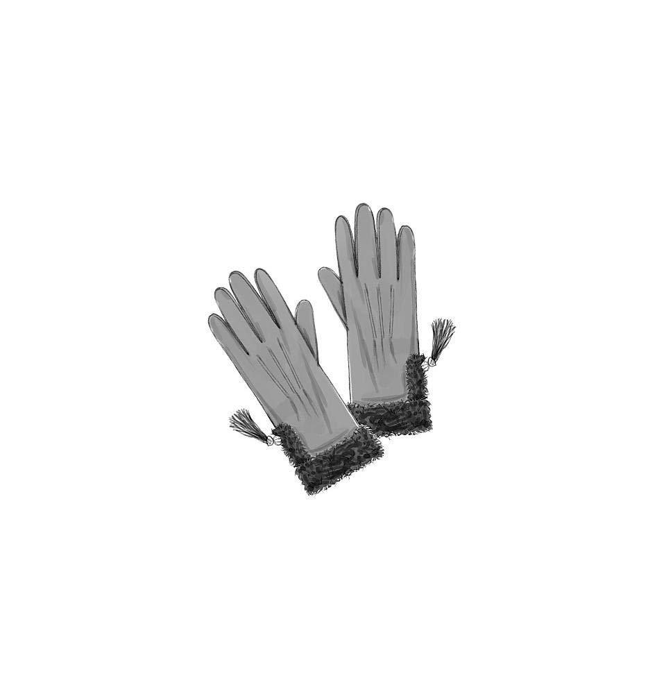 Butterick Patterns B5370 Patrons de gants Style d/époque Blanc Toutes tailles