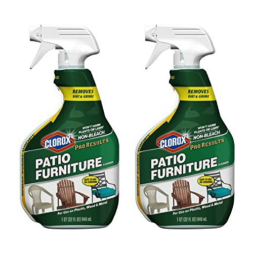 (Clorox Pro Results Patio Furniture Cleaner Spray Bottle, 32 fl oz (2 PACK))