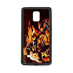 Valentino Rossi theme pattern design For Samsung Galaxy Note 4 Phone Case
